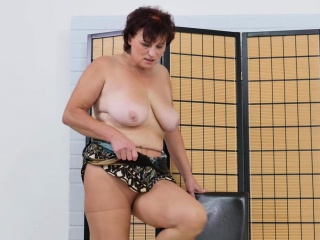 Euro gilf Danja doesn't wear panties today