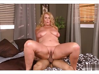 granny Alice fuck with young boy