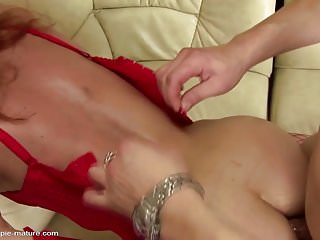 Mother gets ass fucked and pissed on