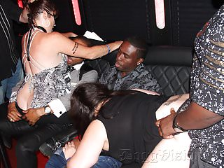 Squirting and Debauchery on a Party Bus