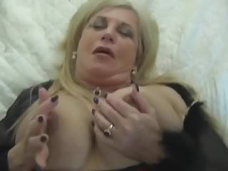 Young Cock For Awesome Busty Gilf In Stockings