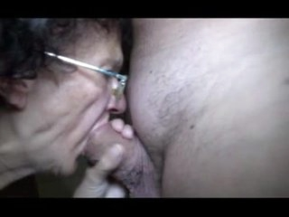 GRANNY N OLD MAN BIG COCK SUCKING ONLY P1