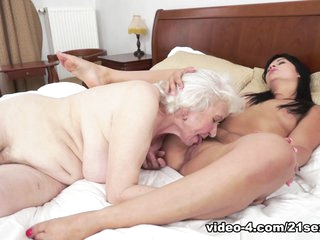 Incredible pornstars Noma Hill, Naomie in Amazing Lesbian, Hairy adult video