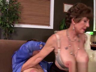 Lusty Grandma Fucked In The Asshole