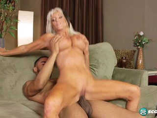 What's playing on the BBC? Sally D'Angelo! - 60PlusMilfs