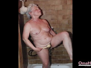 OmaHoteL Mature and Granny Toying Slideshow