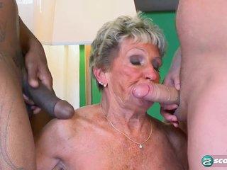 Granny Gets Two! - 60PlusMilfs