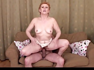 Amazing Granny, Blowjob porn video