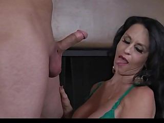 Crazy homemade Blowjob, Grannies porn movie