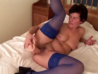 Grandma ibolya masturbating 1