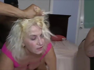 GILF Ass Fucked by Granddaughters Boyfriend