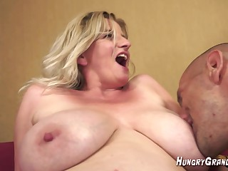Big Tit 55yo blonde Colette