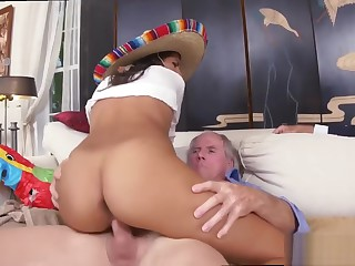 Old woman webcam and old man big boobs and old man fucks young slut and
