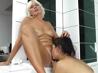 Amazing pornstar in exotic mature, lesbian xxx movie