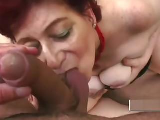 Hot stud makes gilf tamara moan loud when he bangs her outdoors