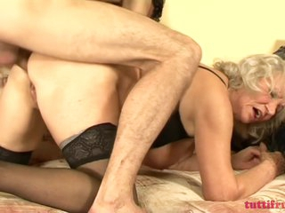 TuttiFrutti - Hairy and horny Granny Norma