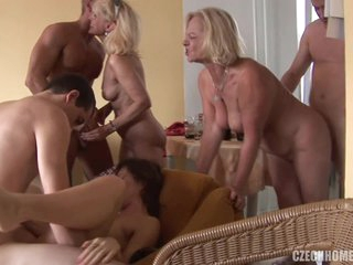 Czech Orgy For These Sex Mad People